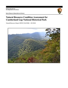 Natural Resource Condition Assessment for Cumberland Gap National Historical Park.pdf