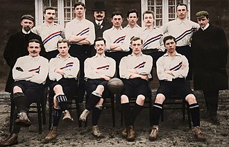 Netherlands national football team - The Netherlands in 1905