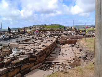 Ness of Brodgar - Excavations at the Ness of Brodgar.
