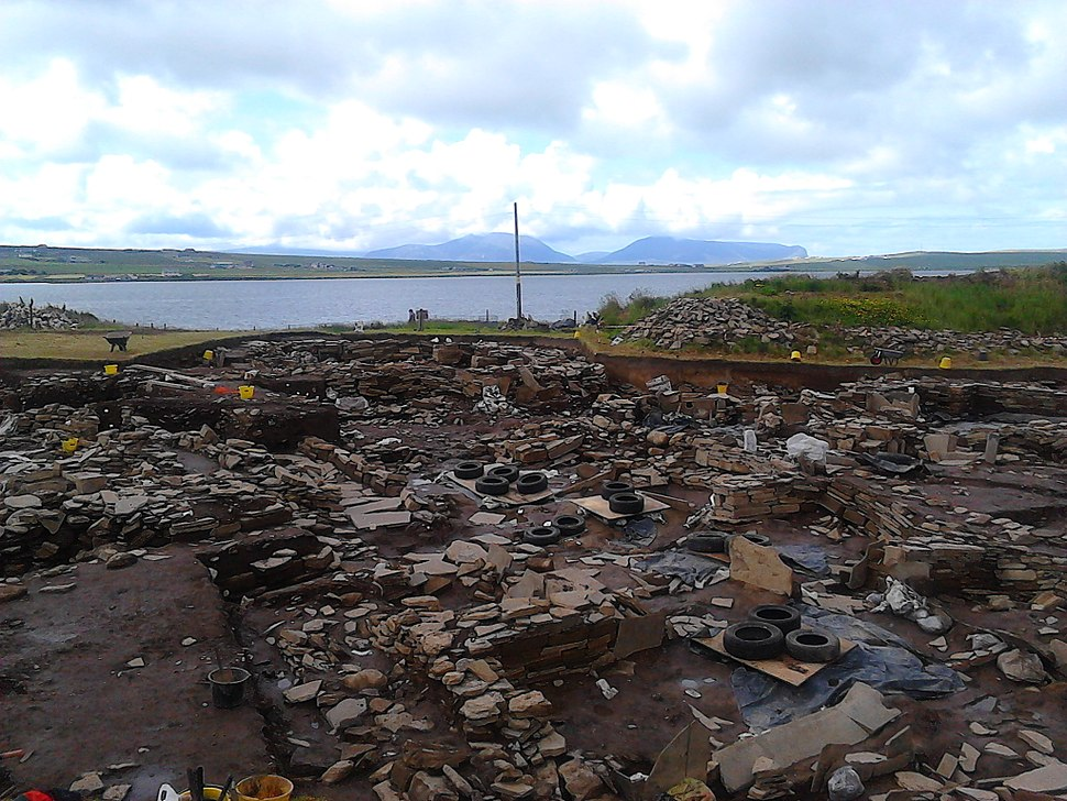 Ness of Brodgar 5 - 6.7.16