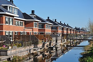 Real estate development - In the Netherlands virtually all housing is developed and built through property developers, including development in upmarket segments.