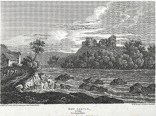 New Castle: in Emlyn, Cardiganshire