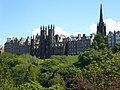 New College from Princes Street Gardens - geograph.org.uk - 1530029.jpg