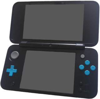 New Nintendo 2DS XL handheld video game console