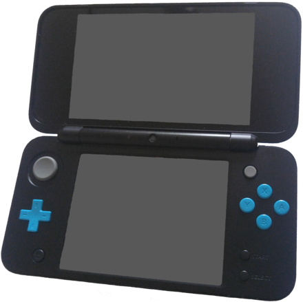 A Black x Turquoise New Nintendo 2DS XL New Nintendo 2ds XL.png
