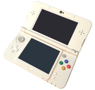 Stereoscopic video game - The New Nintendo 3DS uses parallax barrier autostereoscopy to display a 3D image.