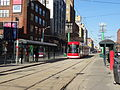 New streetcar 4404 heading south on Spadina, near King, 2014 12 20 (8) (15450210884).jpg