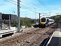 New train at Kirkstall Forge station (geograph 6443175).jpg