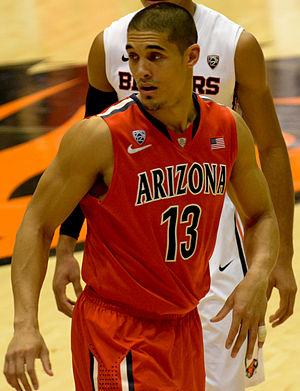 Nick Johnson (basketball) - Johnson with the Arizona Wildcats