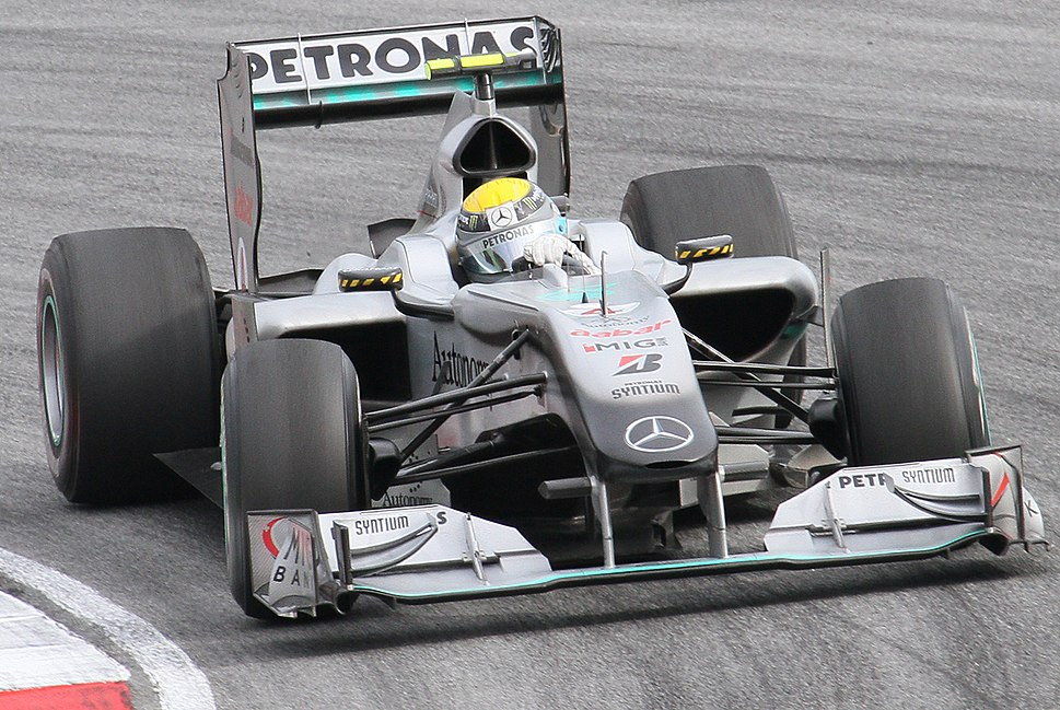 Nico Rosberg 2010 Malaysia race