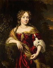 Portrait of a Woman, possibly Eva van Neck (1656-1704)