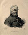 Nicolas-René-Dufriche, Baron Desgenettes. Lithograph by N. E Wellcome V0001559.jpg