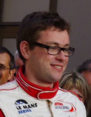 Nicolas Marroc - Marroc at the 2011 24 Hours of Le Mans driver parade