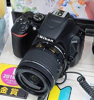 Nikon D3500 digital camera model