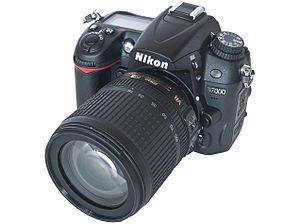 Nikon D7000 Digital SLR Camera with AF-S DX 18...