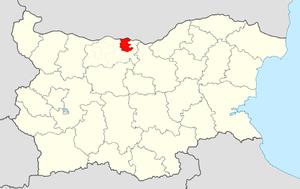 Nikopol Municipality - Image: Nikopol Municipality Within Bulgaria