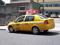 Nissan Platina as taxi in Guatemala City.jpg
