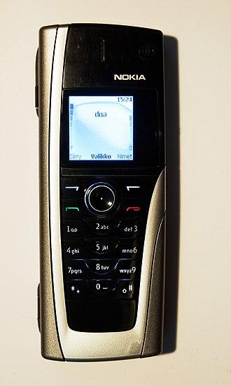 Nokia 9500 Communicator - Nokia 9500 closed