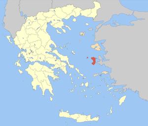 Chios (regional unit) - Image: Nomos Chiou