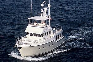 Nordhavn (yacht) - 47 ft. Nordhavn Vessel underway