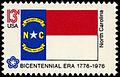 North Carolina Bicentennial 13c 1976 issue.jpg
