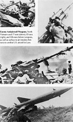 north vietnamese anti aircraft defense weapons - Christmas Bombings