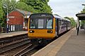 Northern Rail Class 142, 142034, Romiley railway station (geograph 4512270).jpg