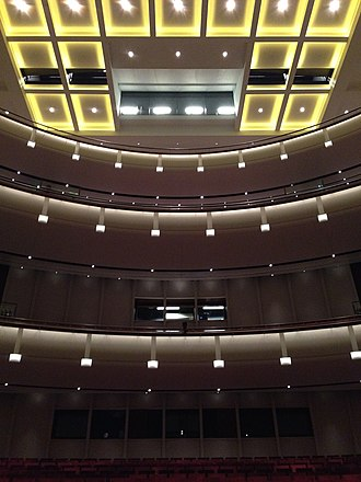Northrop Auditorium - Image: Northrop University of Minnesota from floor