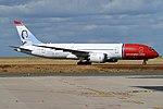 Norwegian (Sonja Henie Livery), LN-LNA, Boeing 787-8 Dreamliner (44361812945).jpg