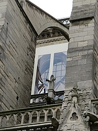 Notre-Dame - 2019-05-31 - Nave from the north, window protection.jpg
