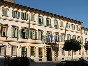 Province of Novara - Palazzo Natta, the prefecture building