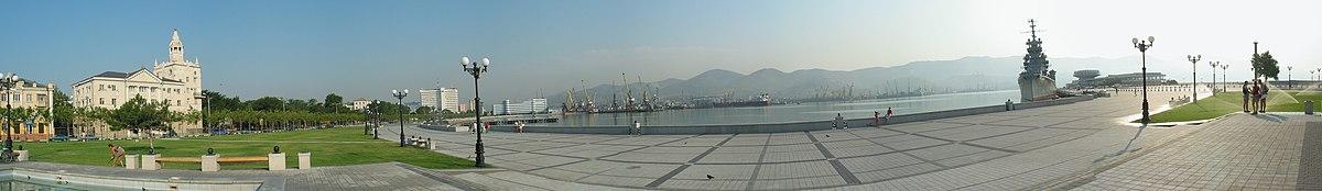 Panorama vido de haveno