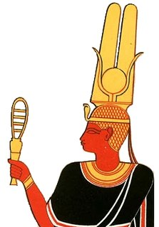 Ancient Egyptian and Nubian queen
