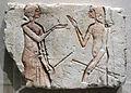 Nuovo regno, fine della XVIII dinastia, conversazione, 1352-1336 ac ca, da el amarna poi hermopolis.JPG