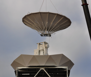 OU-PRIME - Installation of 8.5-meter dish for OU-PRIME