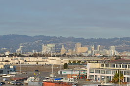 Oakland viewed from USS Hornet Museum.JPG