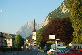 Former municipality of Switzerland in Glarus