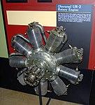Oberursel UR-2 rotary aero-engine, National Museum of the US Air Force, Dayton, Ohio, USA. (42198120851).jpg