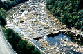 Ocoee Canoe Slalom 1996 Olympics Mid-course before construction.JPG