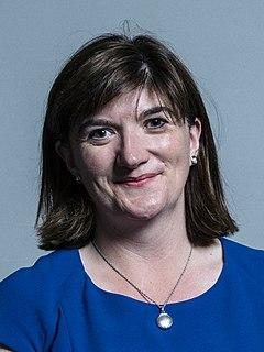 Nicky Morgan British politician
