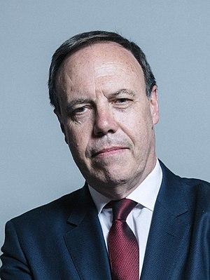 Nigel Dodds - Image: Official portrait of Nigel Dodds crop 2