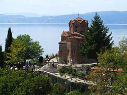 Ohrid - Church of St. John of Kanevo.JPG