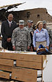 Oklahoma Gov. Mary Fallin, right foreground, leads U.S. Army Gen. Frank J. Grass, left foreground, the chief of the National Guard Bureau, on a tour through the classroom at the Plaza Towers Elementary School 130528-Z-VF620-4022.jpg