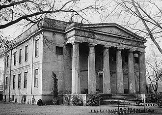 Augusta University - Old Medical College in Augusta, Georgia in 1934