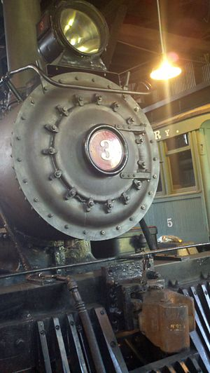 Sierra No. 3 - Sierra No. 3 in the roundhouse at Railtown 1897 State Historic Park in 2011