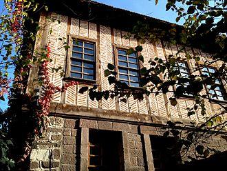 Turkish art - Image: Old Turkish Houses Ankara