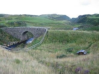 Armadale, Sutherland - Bridge over Amadale Burn