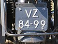 Old motorcycle plate of the Netherlands.jpg