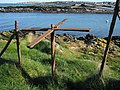 Old turnstile, Ballymacormick Point - geograph.org.uk - 728788.jpg