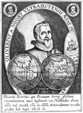 Olivier van Noort - Dutchman, maritime explorer